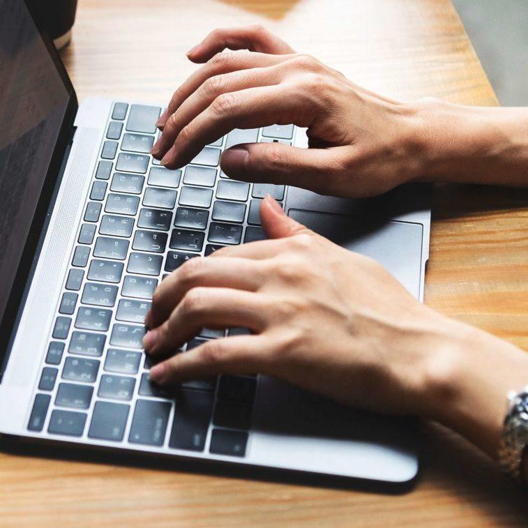Typing Mac
